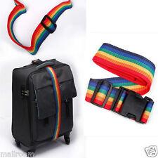 Einstellbar Koffergürtel mit Zahlenschloß Kofferband Koffergurt Gepäck Gurt Band