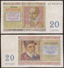 20 FRANCS 1956 BELGIQUE / BELGIE 20 FRANK / BELGIUM - P132b (A14 875612 )
