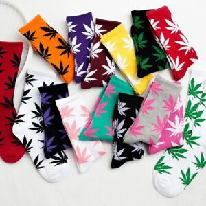 Mens Lady Cotton Socks Weed Marijuana Leafs-New Chain Pendant Necklace Weed Leaf