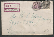 1933 registered cover Gladys Muller to Mr Ulen furrier Portland OR in-city