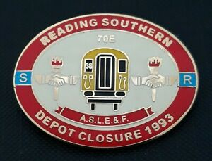 ASLEF : Reading Southern - Depot Closure (Red / Cream)