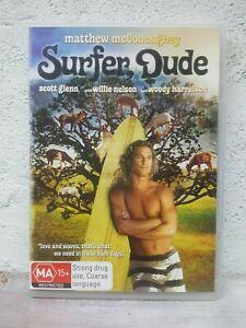 Surfer Dude DVD Matthew McConaughey 2008 Woody Harrelson Comedy Movie Funny