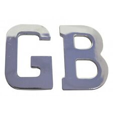 GB Adhesive Letters Chrome Car Badge