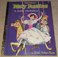 Walt Disney's Mary Poppins A Jolly Holiday  Hardcover Book 1964