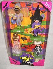 #4986 Nrfb Mattel Target Stores Halloween Fun Li'l Friends of Kelly Giftset