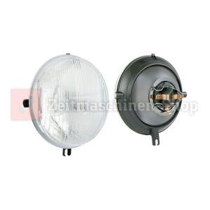 Scheinwerfereinsatz, Reflektor für Simson SR50 SR80 rund 144mm mit E-Prüfzeichen