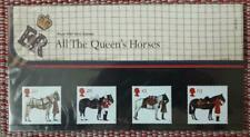 1 x All The Queen's Horses Royal Mail Mint Stamps Presentation Pack - 1997
