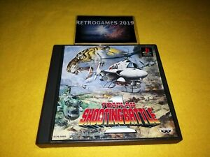 TOAPLAN SHOOTING BATTLE SONY PLAYSTATION PSX PS2 PS1,PS2 REG CARD