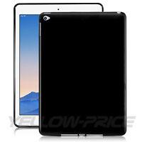 For Apple iPad Air 2 iPad 6 Slim Black Soft TPU Back Case Protective Cover Shell