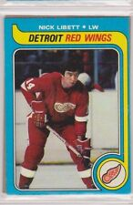 1979-80 Topps Hockey Nick Libett Detroit Red Wings #198