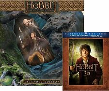 Hobbit: An Unexpected Journey Limited Edition 5-disc Blu ray with Statue Box Set