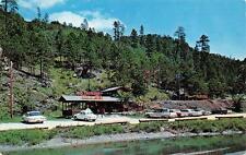 KEYSTONE, SD  South Dakota   BIG THUNDER GOLD MINE  Cars  Roadside 1964 Postcard