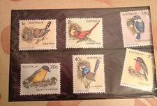 AUSTRALIA 1979 Australian Birds Commemerative Set