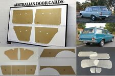 Holden EH EJ Wagon Blank Trim Kit. Gaskets Door Cards Kick Cargo Tailgate Panels