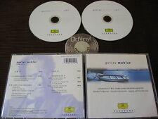 2 CD Mahler Symphonies 1 & 5 Hampson Bernstein DG 2000