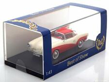 ROMETSCH LAWRENCE COUPE 1959 WHITE RED BOS 43291 1/43 RESINE VW VOLKSWAGEN WEISS