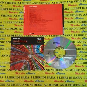 CD compilation MUSICA DEL MONDO ANDALUSIA pepe perla pericon jerez(C28) no mc lp
