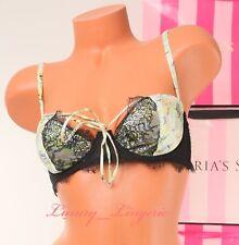 NWT VICTORIA/'S SECRET Bra Designer Collection Silk Lined Balconet Fantasy Island