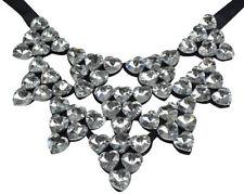 Modeschmuck-Halsketten & -Anhänger aus Strass mit Kristall-Hauptstein für Damen