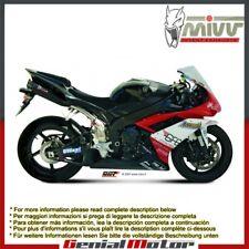 Scarichi Omologati MIVV Suono Nero Sotto sella Yamaha Yzf 1000 R1 2007 > 2008