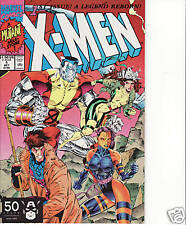 X-MEN # 1 (Oct 1991)(Gambit & Colossus cover) Jim Lee
