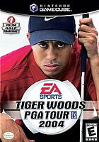 Tiger Woods PGA Tour 2004 discs and box no manual