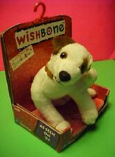 TV Wishbone the dog Equity Toys Soft Plush Itch Scratching Back Paw Up