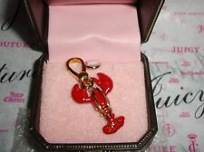 New juicy couture Lobster Charm For Bracelet, Necklace,Handbag