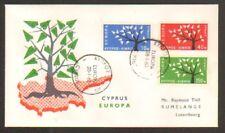 EUROPA / CYPRUS / PREMIER JOUR 1963 F.D.C.