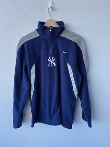 Vintage Nike New York Yankees Fleece Jumper Pullover Size Large Offical Merch