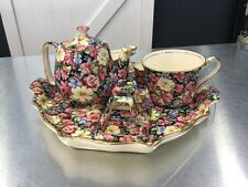 VINTAGE ROYAL WINTON GRIMWADES FLORENCE BREAKFAST SET 1995 ENGLAND CHINTZ