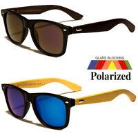Polarized WOOD Fashion Sunglasses Retro Glasses Vintage Frame Unisex Fashion