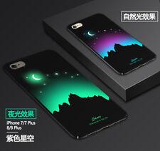 Luminoso Carcasa Trasera para Iphone 6/7/8 / X Fluorescente Cambia de Color