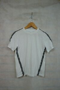 BURBERRY WHITE TAPERED TOP AGE - 14 ##MANCL64