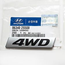 863402S500 Genuine Parts Hyundai TUCSON IX35 2013~2015 /NewTucson IX -4WD Emblem