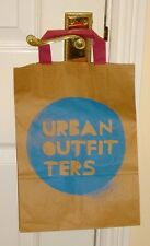 URBAN OUTFITTERS ~ SMALL STRONG BROWN PAPER SHOPPER/ GIFT BAG ~ NEW