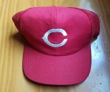 Vintage Cincinnati Reds - Snapback 1/2 Mesh Baseball Hat Cap (Adult M/L)