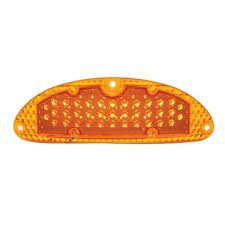 1955 Chevy LED Parking Lights Turn Signals, Gaskets Bel Air Nomad 150 210 AMBER