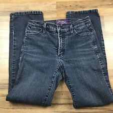 Not Your Daughter's Jeans Women's Size 0P Dark Wash Straight Leg I013