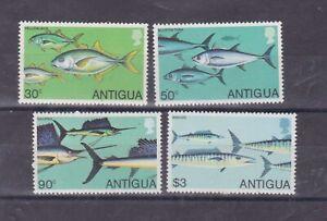 antigua 1979 fish,set SG 617/20,Sc 542/5         q1054