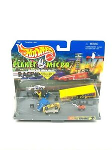 HOT WHEELS PLANET MICRO MACHINES Dragster Racing Series THE SNAKE