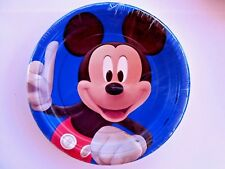 x24 Paper Plates Mickey Mouse Disney Party Birthday Decoration Supplies