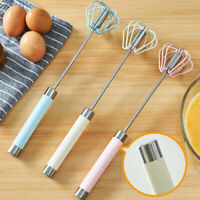 FP- Semi Automatic Milk Frother Coffee Whisk Mixer Egg Beater Maker Kitchen Tool