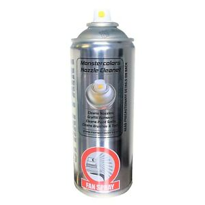 Monster 400ml Spray Nozzle Cleaner-Graffiti Remover, Cap Cleaner, Paint Thinner