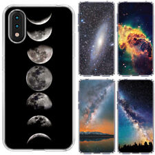 for Samsung Galaxy A01(Clear) ShockProof TPU Bumper Skin Phone Case Cover-D4