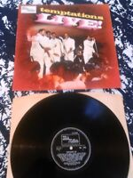 THE TEMPTATIONS - LIVE! LP / UK MONO 1ST PRESS MOTOWN TML 11053 A1 B1