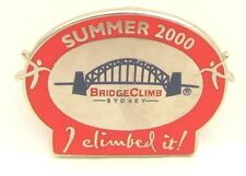 HARBOUR BRIDGE CLIMB CLIMBED IT SYDNEY OLYMPIC GAMES 2000 PIN BADGE COLLECT #117