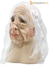Bristol Novelty Bm236 Old Woman Mask Beige One Size