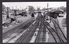 Worcestershire Worcs Midland Rail EVESHAM Station 1962 photograph