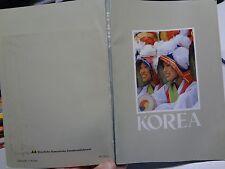 """Buch """"Reiseführer KOREA"""" um 1985 225 Seiten + Karte"""
